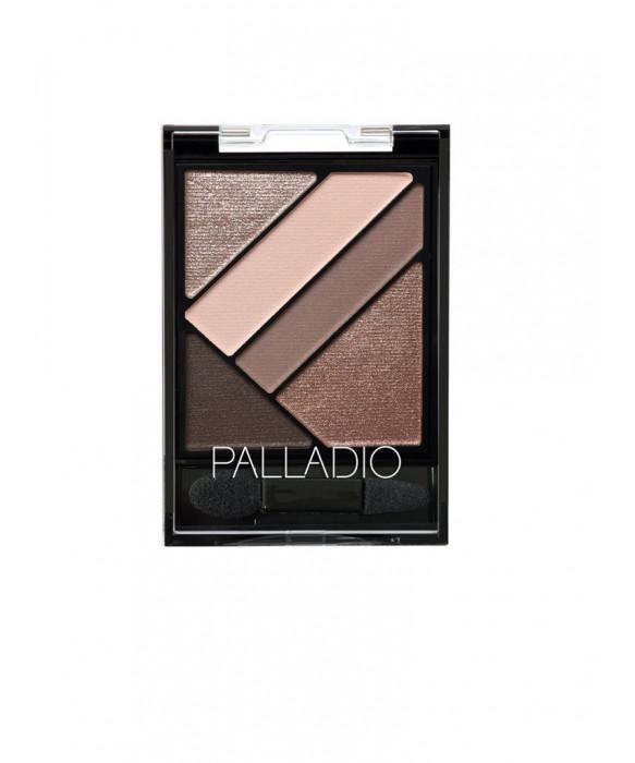 Palladio  Silk FX Herbal eyeshadow  Debutante 2,6g luomiväripaletti