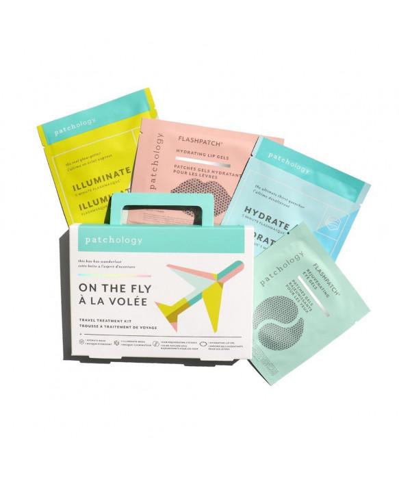 Patchology On The Fly Kit kasvonaamiosetti pakkaus