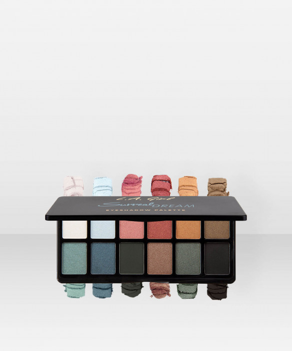 L.A. Girl Fanatic Eyeshadow Palette Surreal Dream luomiväripaletti