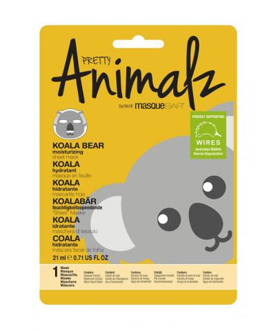 Pretty Animalz by Masque Bar Koala Moisturizing Sheet Mask