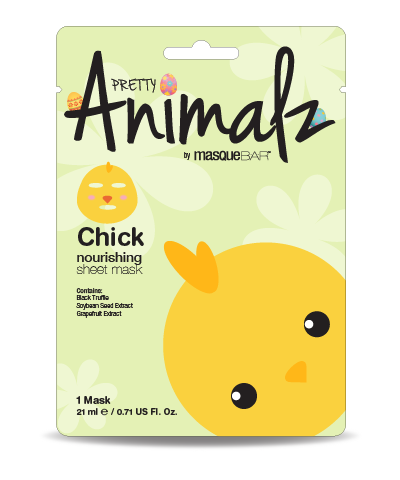 Pretty Animalz by Masque Bar Chick Hydrating Sheet Mask