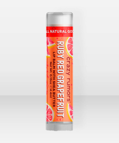 Crazy Rumors Huulivoide Ruby Red Grapefruit 4,4ml