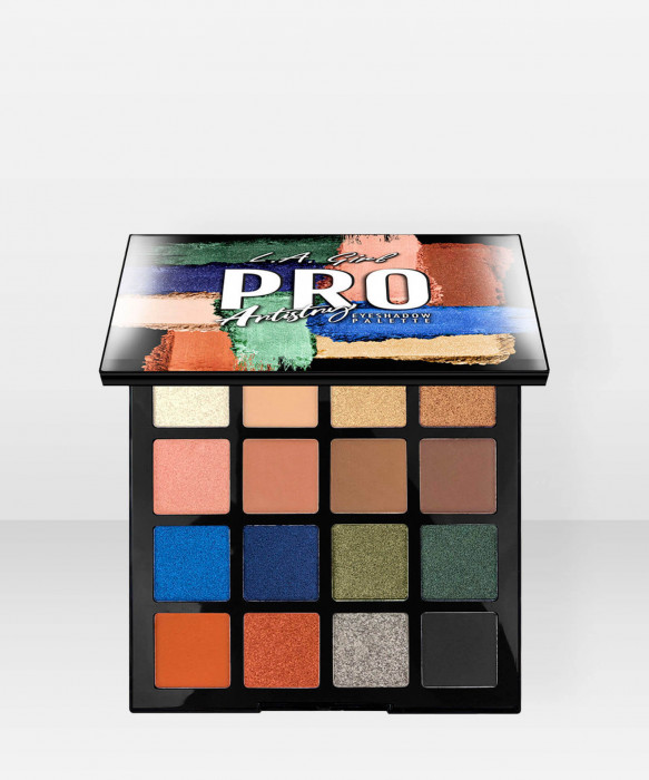 L.A. Girl PRO Eyeshadow Palette - Artistry 284g luomiväripaletti