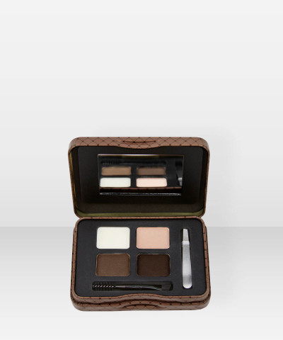L.A. Girl   Inspiring Brow Tin  Dark and Defined