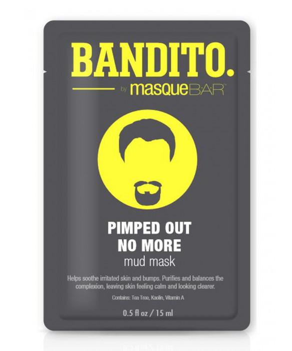 Bandito by Masque Bar Pimped Out No More Mud Mask kangasnaamio kasvonaamio