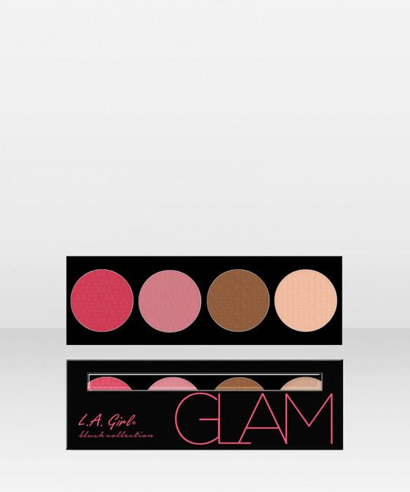 L.A. Girl  Beauty Brick  Blush  Glam 25g paletti