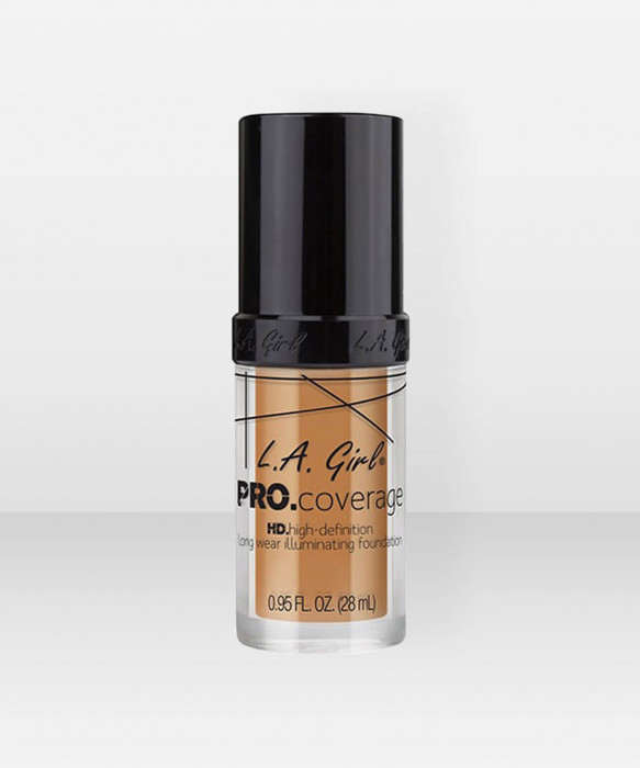 L.A. Girl  Pro.Coverage Illuminating Foundation  Nude Beige meikkivoide