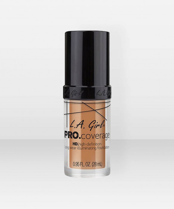 L.A. Girl  Pro.Coverage Illuminating Foundation  Soft Honey meikkivoide
