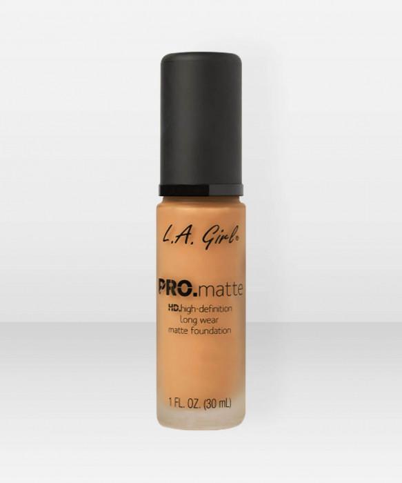 L.A. Girl  PRO.Matte HD Long Wear Foundation  Golden Bronze meikkivoide