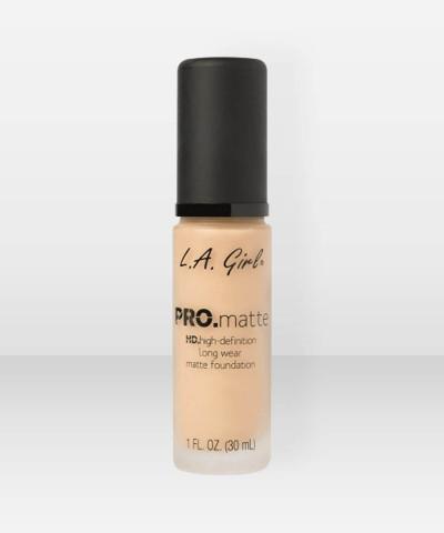 L.A. Girl  PRO.Matte HD Long Wear Foundation  Light Tan