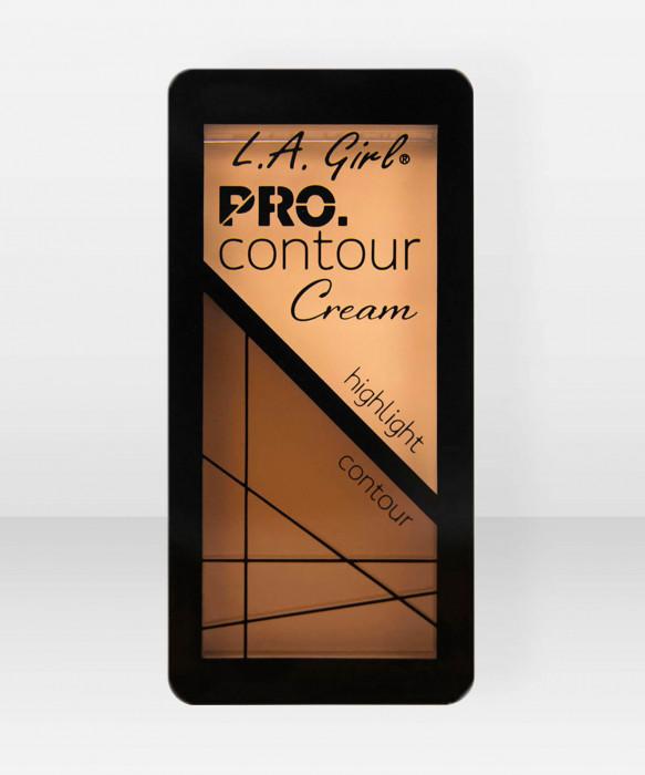 L.A. Girl  ProContour Cream  Medium varjostuspaletti korostuspaletti voidemainen