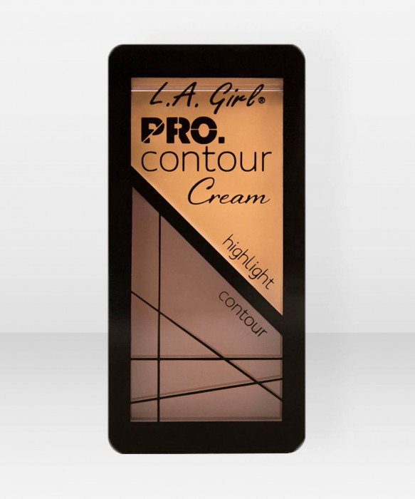L.A. Girl  ProContour Cream  Natural varjostuspaletti korostuspaletti voidemainen