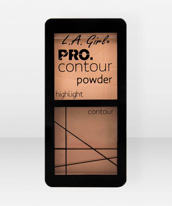 L.A. Girl  Pro Contour Powder  Medium varjostuspaletti