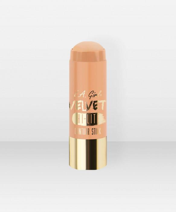 L.A. Girl  Velvet Contour Stick  Highlighter  Cashmere 5,8g voidemainen korostusväri