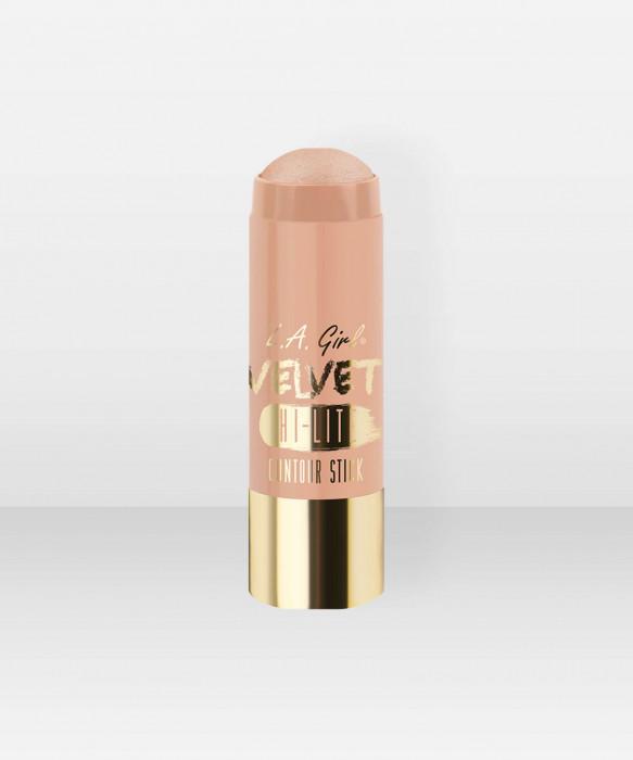 L.A. Girl  Velvet Contour Stick  Highlighter  Radiance 5,8g voidemainen korostusväri