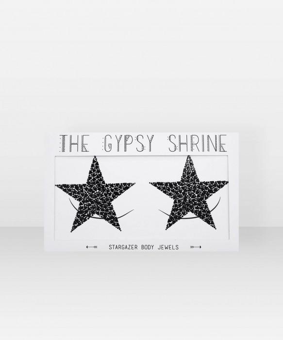Shrine Stargazer Black Body Stickers ihotarrat glittertarra