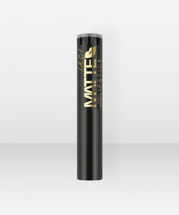 L.A. Girl  Matte Velvet Lipstick  Raven Huulipuna