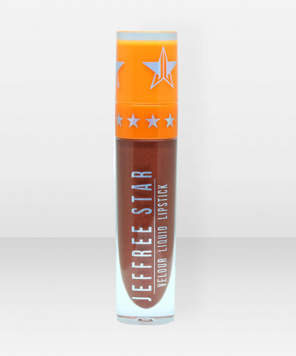 Jeffree Star Cosmetics Velour Liquid Lipstick Fudge Pop nestemäinen huulilakka huulipuna