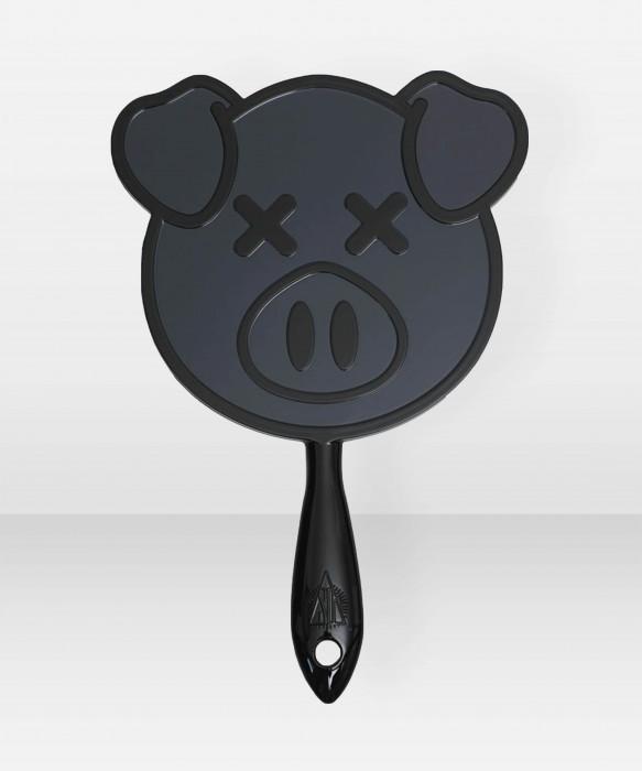 Jeffree Star Cosmetics Hand Mirror Black Pig peili meikkipeili