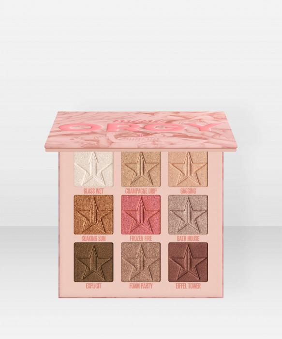 Jeffree Star Cosmetics Eyeshadow Palette Mini Orgy luomiväripaletti luomiväri