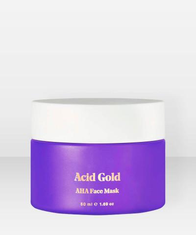 Bybi Beauty Acid Gold AHA Face Mask 50ml