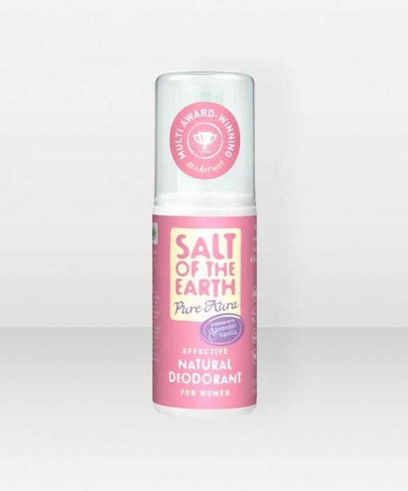Salt of the Earth Pure Aura Lavender & Vanilla Mineraalideodoranttisuihke 100ml deodorantti