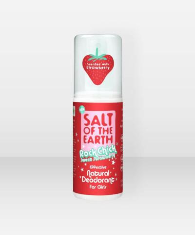 Salt of the Earth Sweet Strawberry  Mineraalideodoranttisuihke 100ml