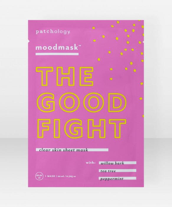 Patchology moodmask The Good Fight Clear Skin Sheet Mask kangasnaamio kasvonaamio