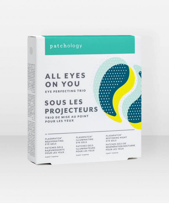 Patchology All Eyes On You Eye Gels Set 6 pairs silmänalusnaamio setti