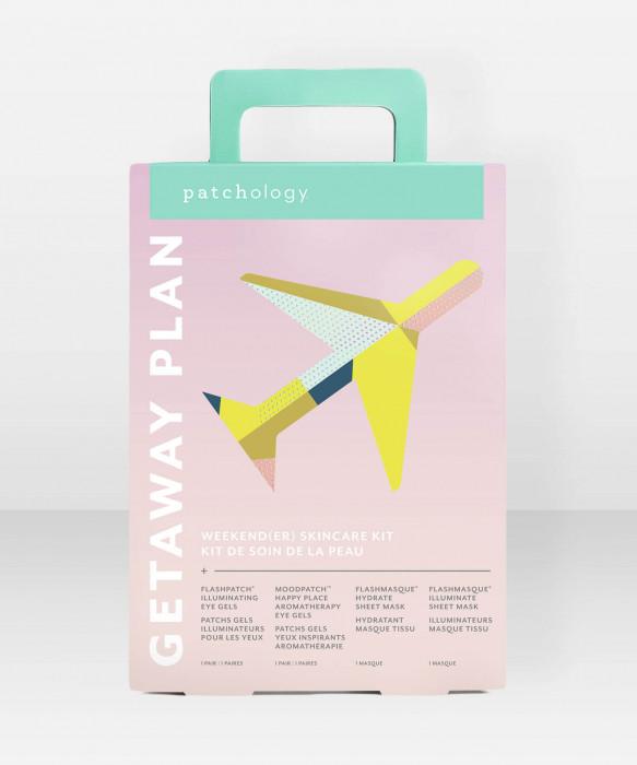 Patchology Getaway Plan Kit ihonhoitosetti kasvonaamiopakkaus