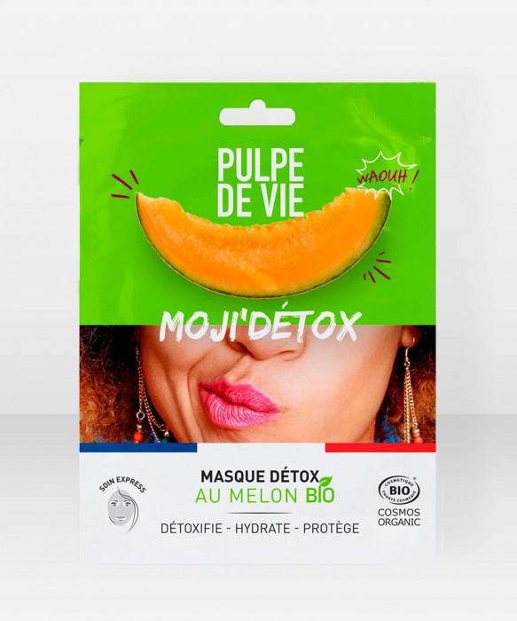 Pulpe De Vie Moji'detox Detox Sheet Mask 20ml kangasnaamio kasvonaamio