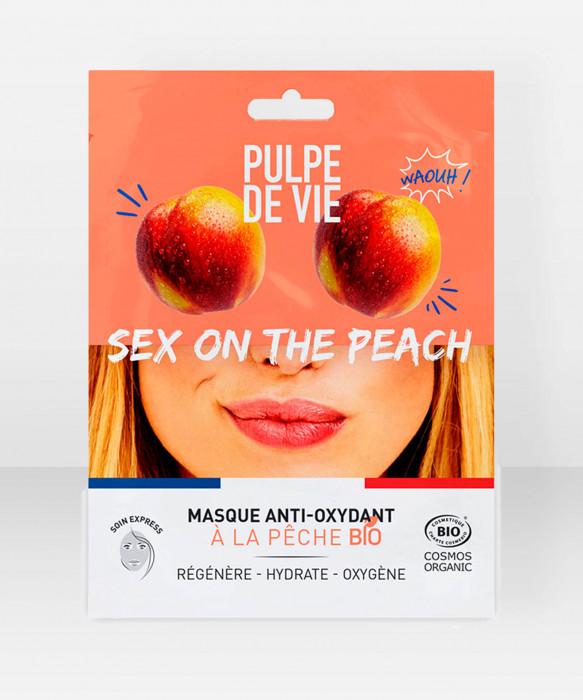 Pulpe De Vie Sex On The Peach Anti-oxydant Sheet Mask 20ml kangasnaamio kasvonaamio
