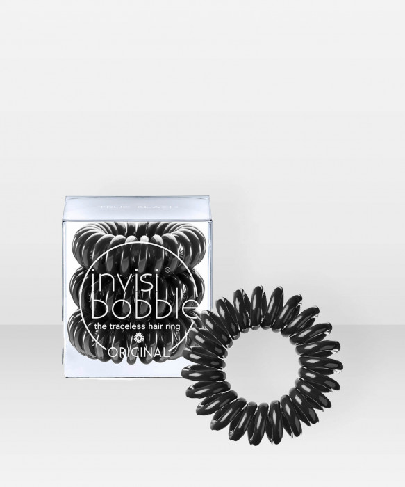 invisibobble ORIGINAL True Black 3 pcs hiuslenkki