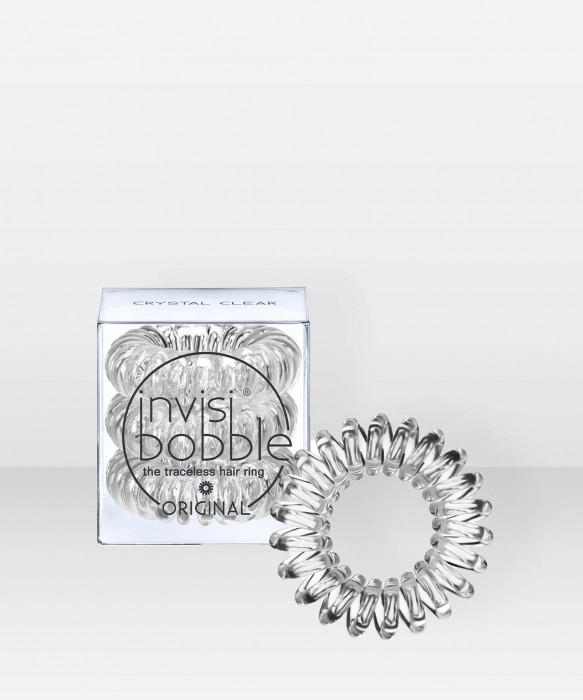 invisibobble ORIGINAL Crystal Clear 3 pcs hiuslenkki