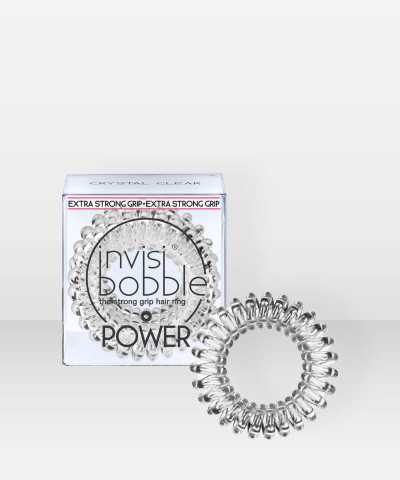 invisibobble POWER Crystal Clear 3 pcs