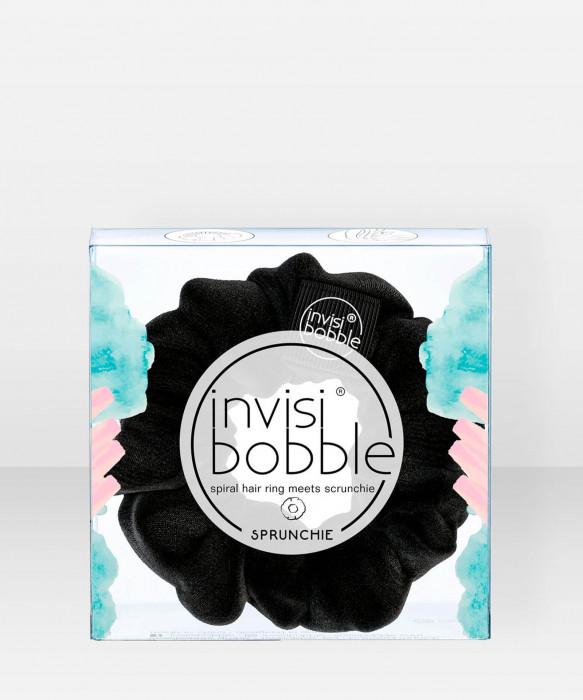 invisibobble SPRUNCHIE True Black 1 pcs hiusdonitsi