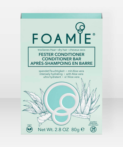Foamie Conditioner Bar Aloe You Vera Much (for dry hair)