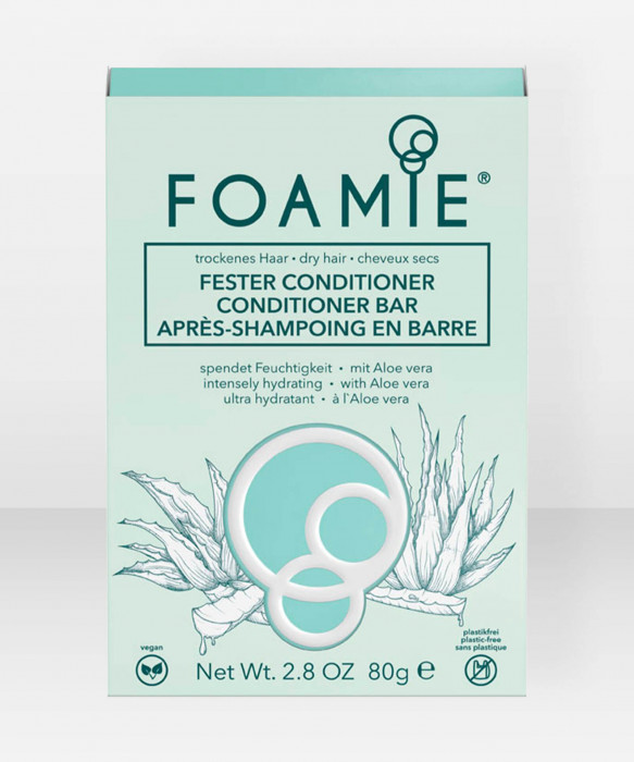 Foamie Conditioner Bar Aloe You Vera Much (for dry hair) palahoitoaine