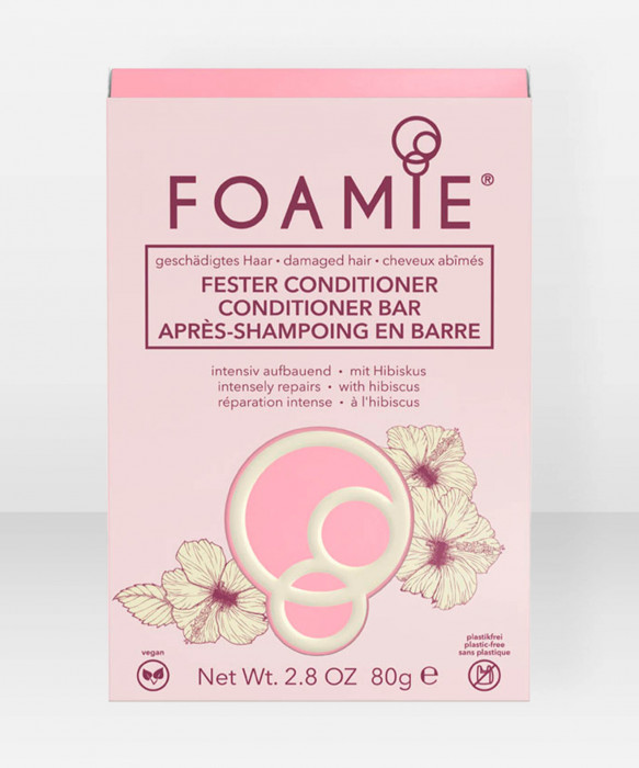 Foamie Conditioner Bar Hibiskiss (for damaged hair) palahoitoaine