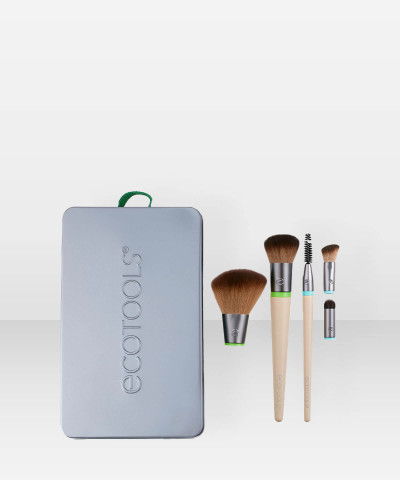 Ecotools Daily Essentials Total Face Kit -vaihtopääsivellinsetti