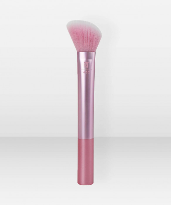 Real Techniques Light Layer Blush Brush poskipunasivellin meikkisivellin sivellin