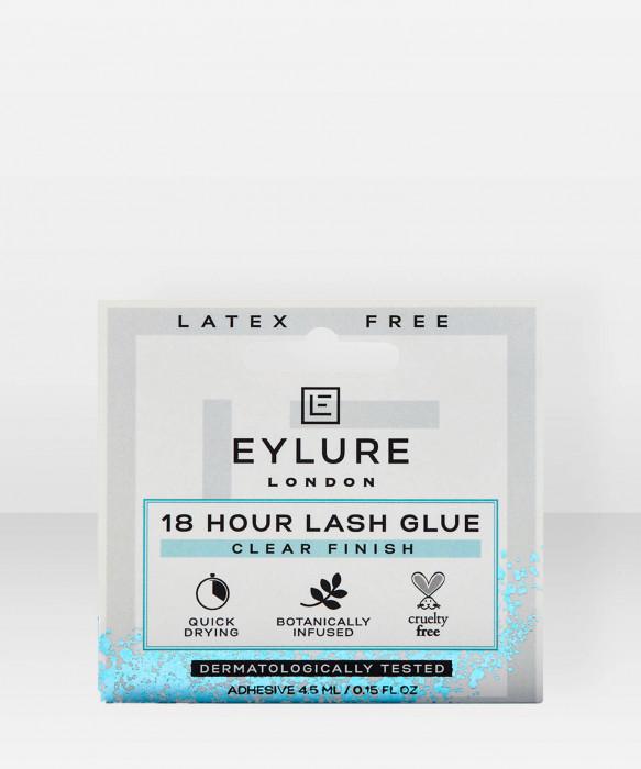 Eylure 18H Lash Glue AcrylicClear 4,5ml ripsiliima