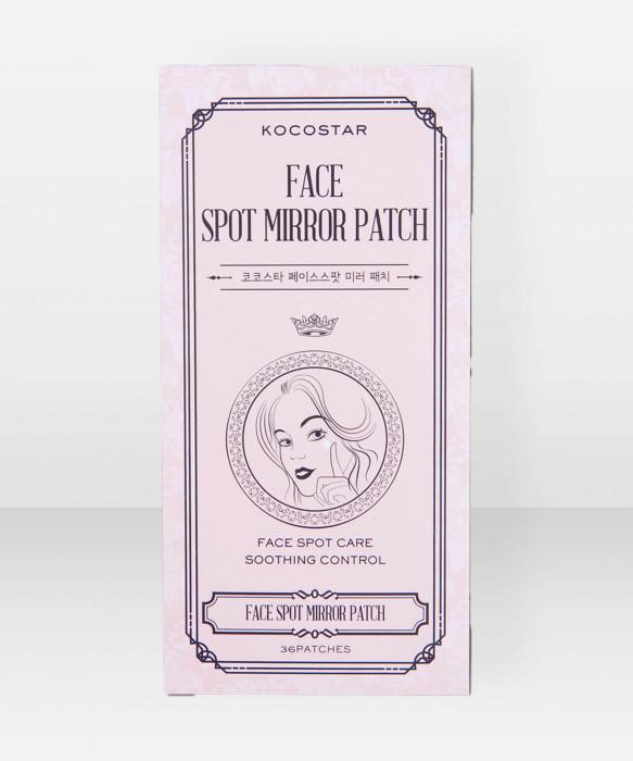 KOCOSTAR Face Spot Mirror Patch 36 pcs hoitolaput epäpuhtauksille