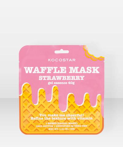 KOCOSTAR Waffle Mask Strawberry