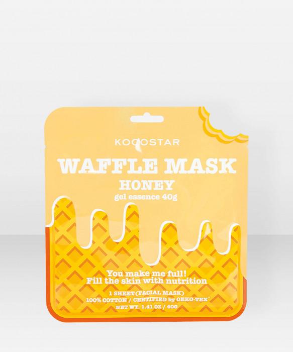 KOCOSTAR Waffle Mask Honey kangasnaamio kasvonaamio
