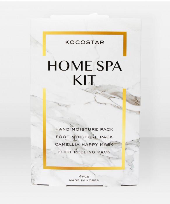 KOCOSTAR Home Spa Kit kangasnaamiopaketti naamio setti