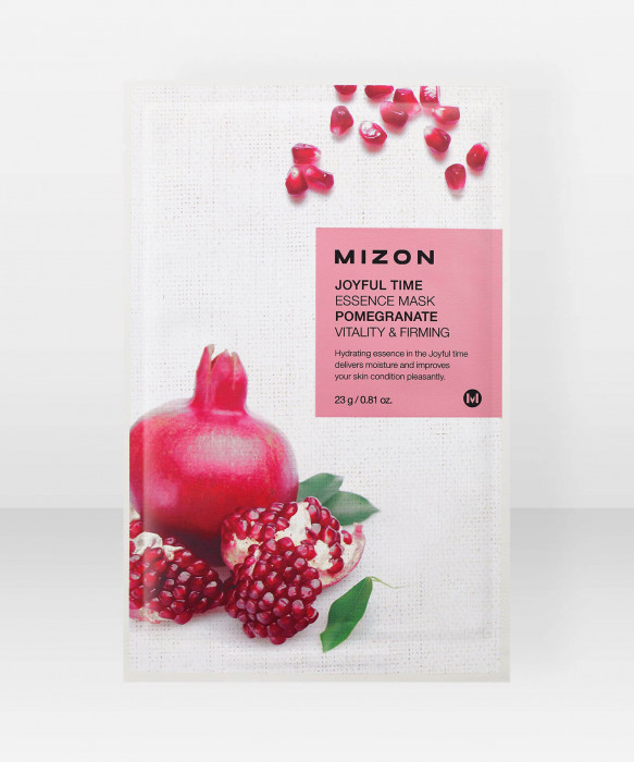 Mizon Joyful Time Essence Mask [POMEGRANATE] kangasnaamio kasvonaamio