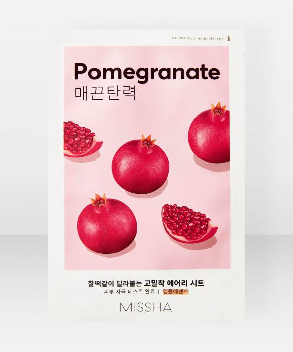 Missha Airy Fit Pomegranate Sheet Mask 19g kangasnaamio