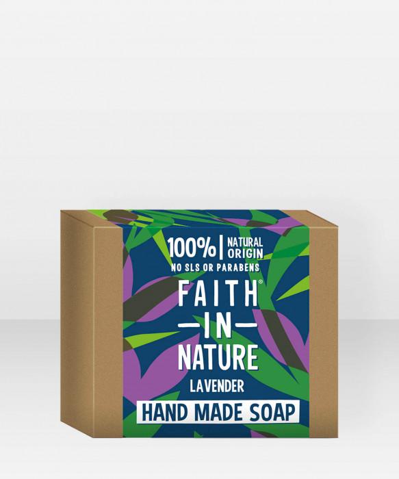Faith in Nature Soap Lavender käsisaippua palasaippua
