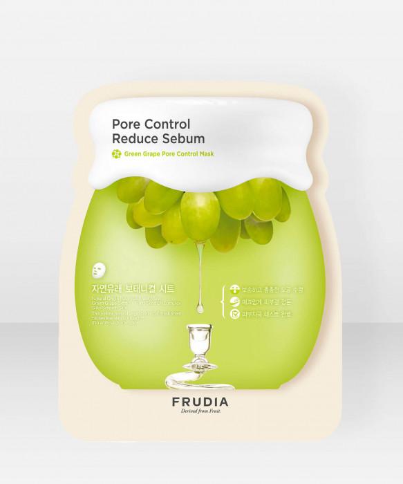 Frudia Green Grape Pore Control Sheet Mask kangasnaamio kasvonaamio